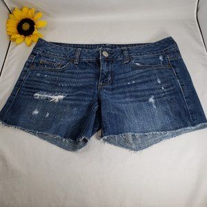 American Eagle Outfitters Distressed Cutoffs, 4